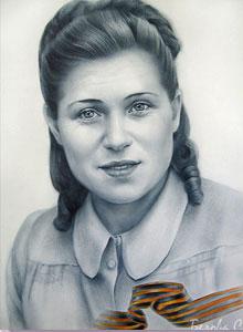 портрет для бессмертного полка